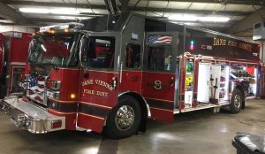 Dane Fire New Truck