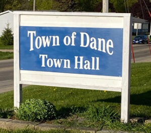 New Town Hall Sign (Barb K)